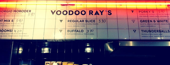 Voodoo Ray's is one of Things to do around Dalston, London.
