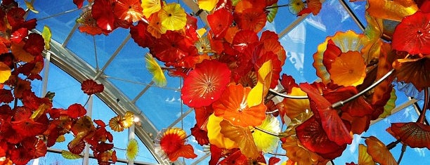 Chihuly Garden and Glass is one of Seattle Destinations.