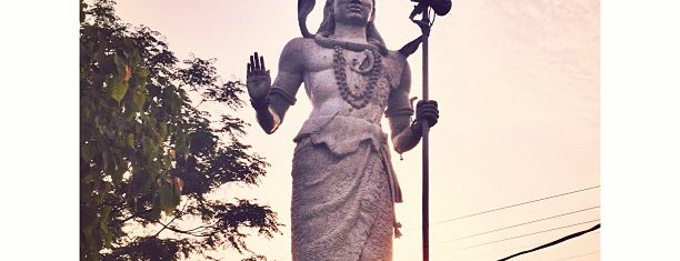 Lord Shiva by Ganga River is one of India places to visit.