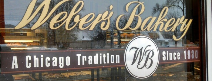 Weber's Bakery is one of Chicago.