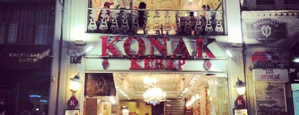 Konak Kebap is one of Istambul food.