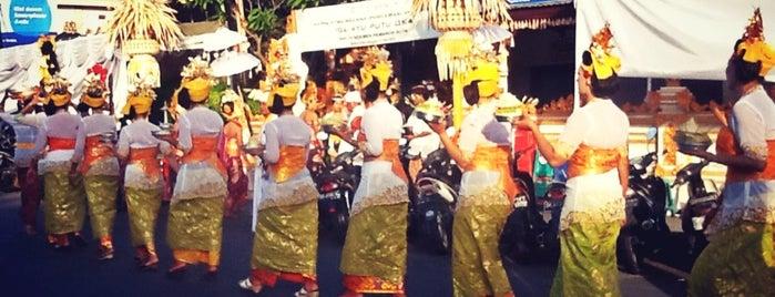 Jalan Raya Kuta is one of Bali's Road.
