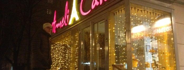 Ameli Café is one of пожрать и посидеть.
