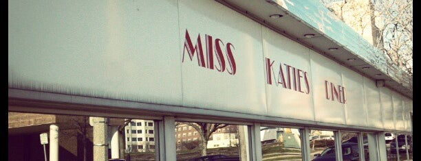 Miss Katie's Diner is one of Breakfast is served.