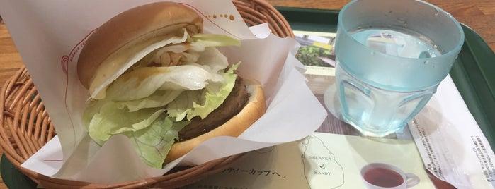 モスバーガー 浅草店 is one of MOS BURGER in Tokyo.