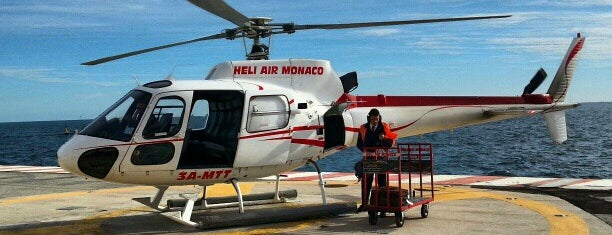 Heliport de Monaco is one of Airports visited.