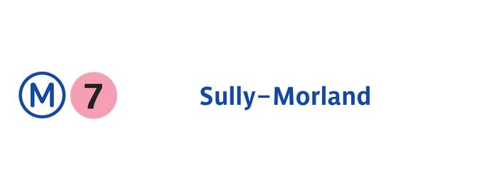 Métro Sully—Morland [7] is one of Métro de Paris.