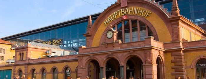 Erfurt Hauptbahnhof is one of Ausgewählte Bahnhöfe.