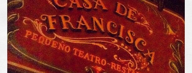 Casa de Francisca is one of Bares - SP.