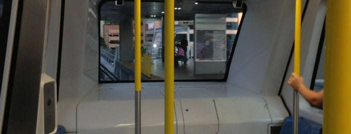 MDT Metromover - Financial District Station is one of My favorite places :).