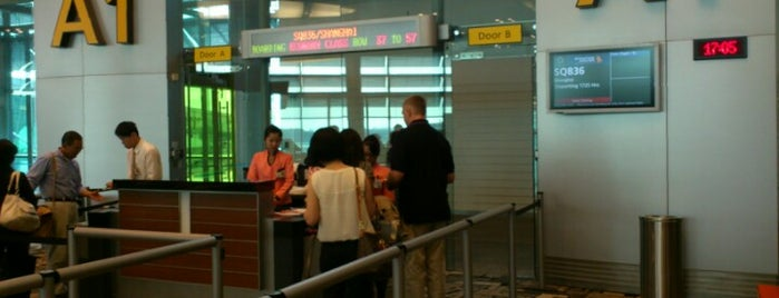 Gate A1 is one of SIN Airport Gates.