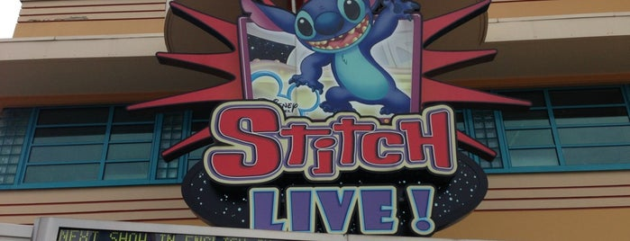 Stitch Live! is one of Disneyland for the Small Ones.