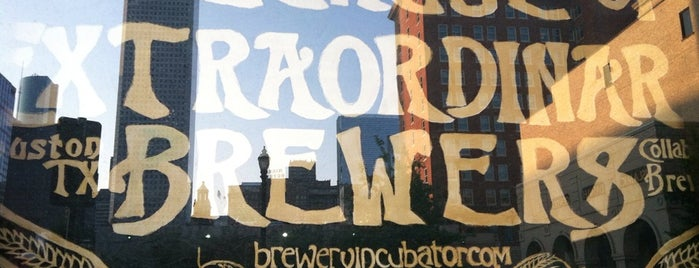 The League of Extraordinary Brewers at the Brewery Incubator is one of Places to eat.