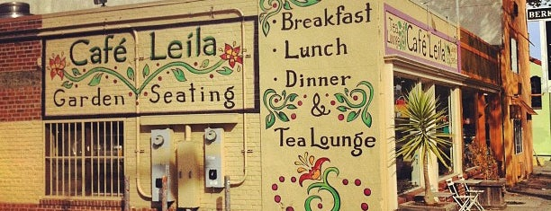 Café Leila is one of Berkeley Dog Friendly Favorites.