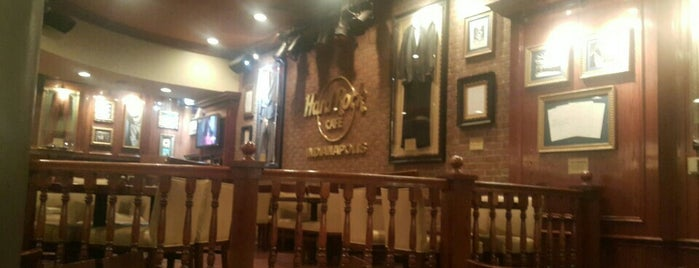 Hard Rock Cafe Indianapolis is one of HARD ROCK CAFE'S.