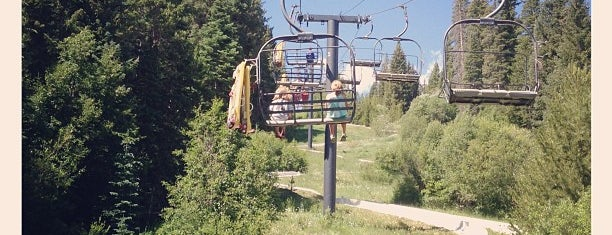 Alpine Slide is one of Colorado Tourism.