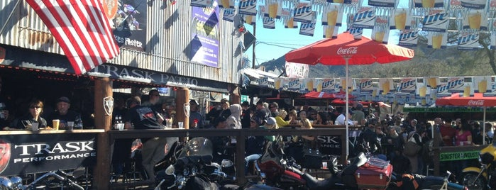 The Hideaway Grill is one of Biker Friendly Places.