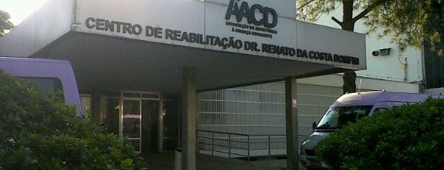 Associação de Assistência à Criança Deficiente (AACD) is one of Ut.