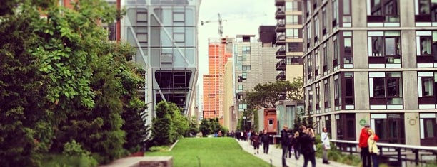 High Line is one of Wi-Fi in NYC Parks.