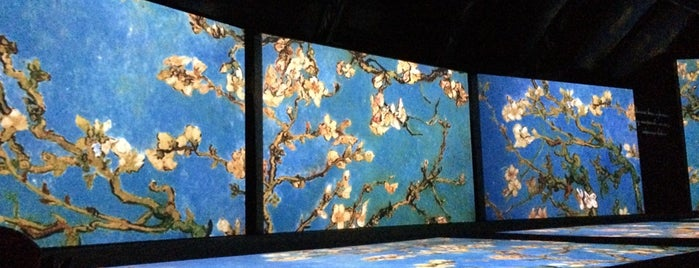 Van Gogh Alive is one of Don't forget.