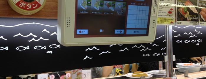 スシロー 東神奈川店 is one of 飲食店.