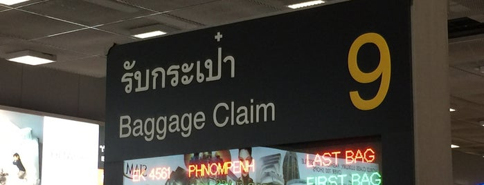 Baggage Claim 9 is one of TH-Airport-BKK-1.