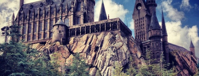 Harry Potter and the Forbidden Journey / Hogwarts Castle is one of Florida Rides 2012.