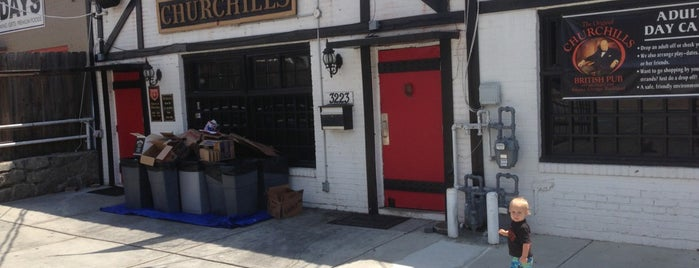 Churchills British Pub is one of Top 10 dinner spots in Atlanta, GA.