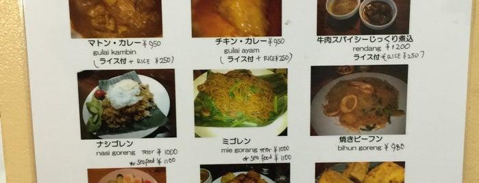 Merah Putih Cafe is one of 大久保周辺ランチマップ.