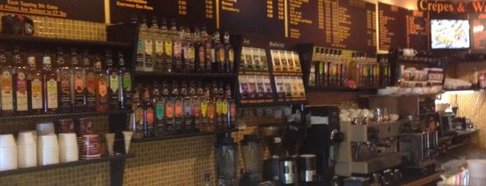 Café Sofia is one of Non-Starbucks Coffee.