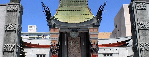 TCL Chinese Theatre is one of Ferias USA 2012.