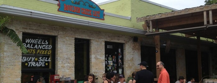 Bouldin Creek Café is one of todo in Austin.