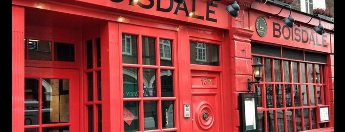 Boisdale of Belgravia is one of 20 favorite restaurants in London.