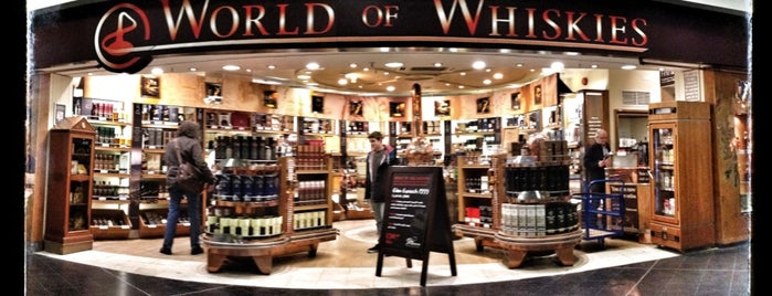 World Of Whiskies is one of Shops at Gatwick Airport North Terminal.