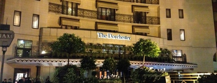 The Dorchester is one of London City Badge - London Calling.