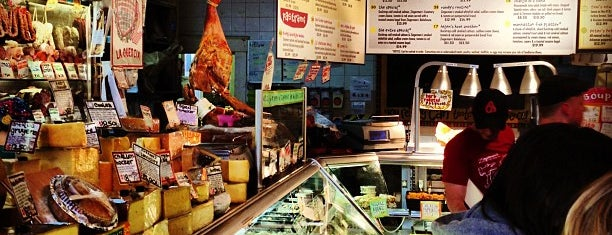 "Zingerman's Delicatessen is one of Featured in ""The Better Bacon Book""."