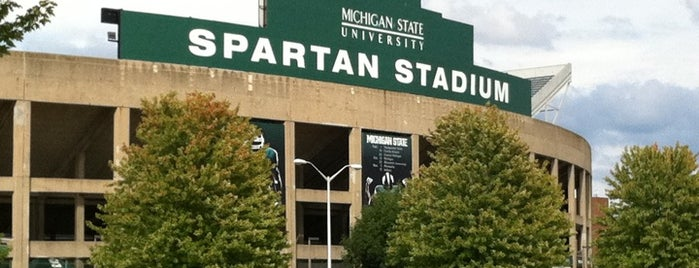 Spartan Stadium is one of Big Ten Stadiums.