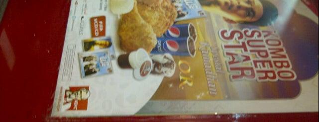 KFC is one of 40 favorite restaurants.