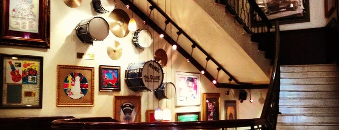Hard Rock Cafe Moscow is one of Caffe.