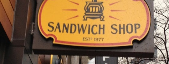 Potbelly Sandwich Shop is one of Places to try, Boston.