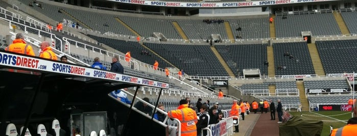 St James' Park is one of My Stadium Tour.
