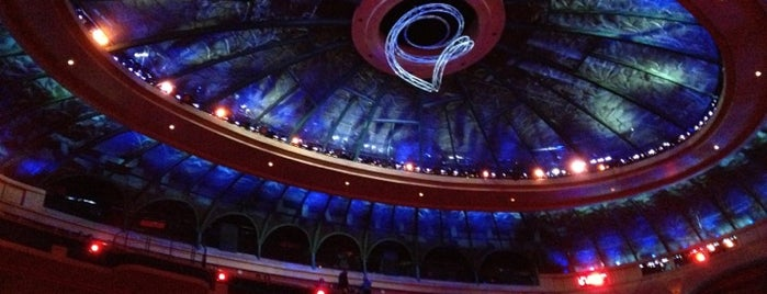 O Theatre is one of Las Vegas Entertainment.