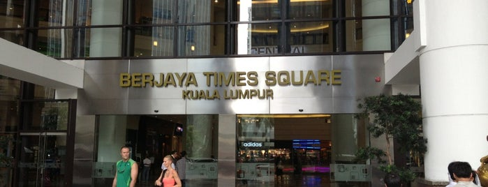 Berjaya Times Square is one of Top picks for Malls.