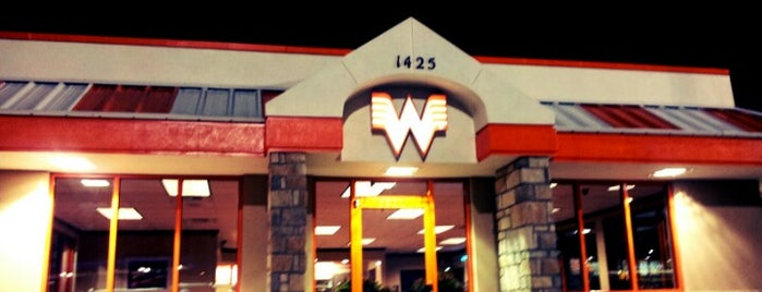 Whataburger is one of Favorite Food.