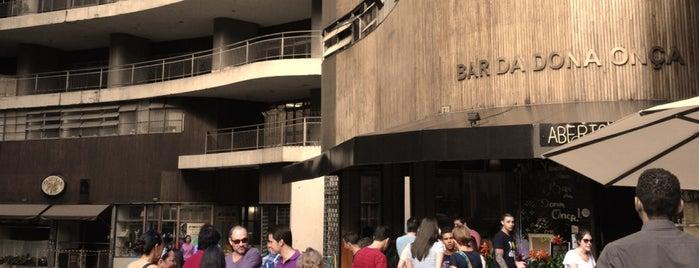 Bar da Dona Onça is one of O melhor do Centro de São Paulo.