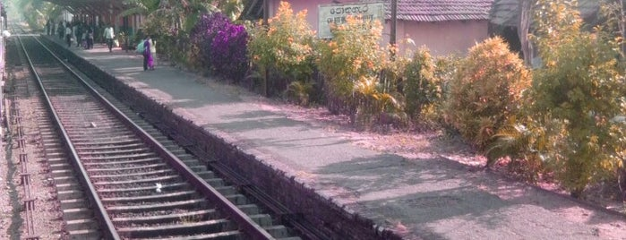 Pothuhera Railway Station is one of Railway Stations In Sri Lanka.