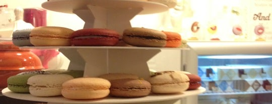 Chantal Guillon Macarons & Tea is one of Yums.