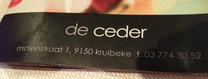 Restaurant De Ceder is one of 20 favorite restaurants.