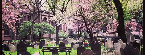 Trinity Church is one of NYC insider's tips.