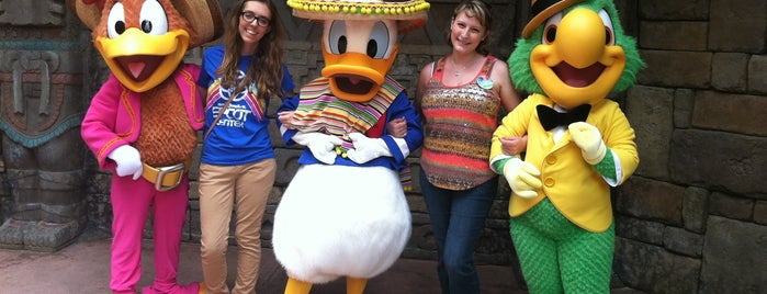 Donald Duck Meet and Greet is one of Epcot World Showcase.